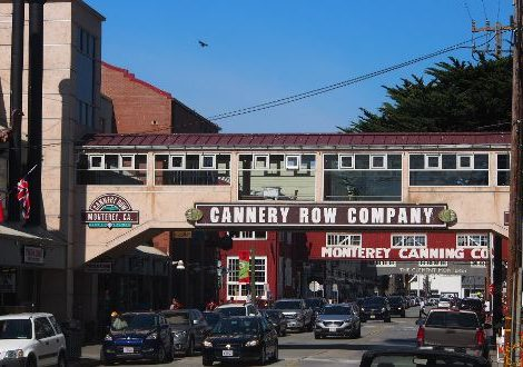 The Streetscape of Cannery Row © Marjie Courtis