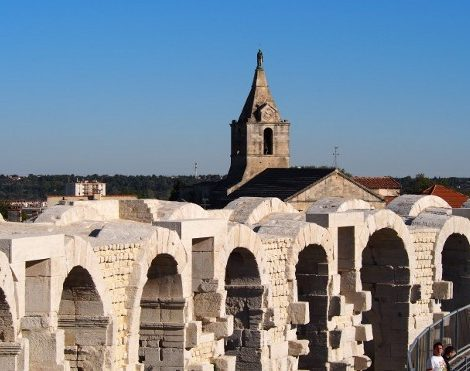 View from Arles Amphitheatre, France © Marjie Courtis