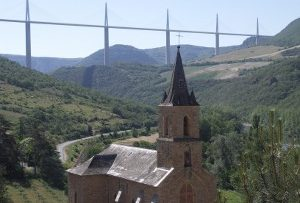 Viaduct from Peyre Village © Marjie Courtis