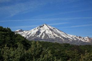 Mt Ruapehu from Waihohonu Hut