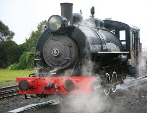 Steaming up in Queenscliff